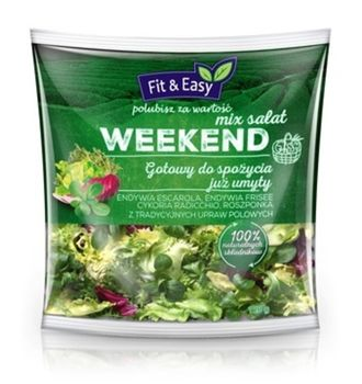 Fit&Easy Mix sałat WEEKEND 150 g