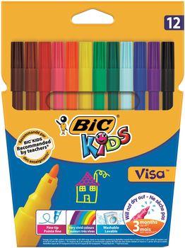Flamaster BIC Visa 12 szt.