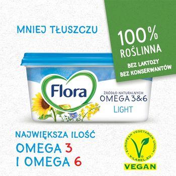 Flora Light Tłuszcz roślinny do smarowania 400 g