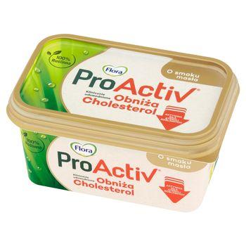 Flora ProActiv Tłuszcz roślinny do smarowania o smaku masła 400 g