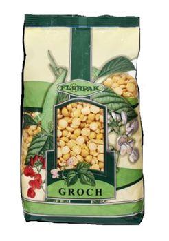 Florpak - Groch zółty połówki 500 g