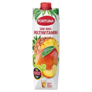 Fortuna Sok 100% multiwitamina 1 l