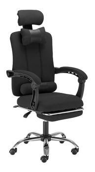 Fotel Biurowy Ergonomiczny Ts Interior Elios Obrotowy Czarny