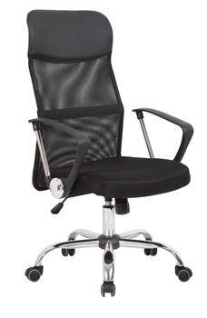Fotel biurowy obrotowy Marco Czarny