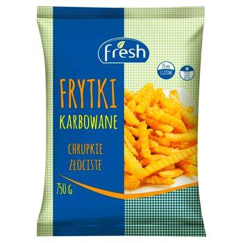 Fresh Frytki karbowane 750 g