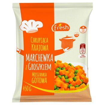 Fresh Marchewka z groszkiem 450 g