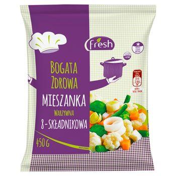 Fresh Mieszanka warzywna 8-składnikowa 450 g