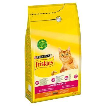 Friskies Hairball Karma dla kotów z kurczakiem i warzywami 1,5 kg