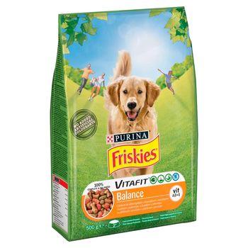 Friskies Vitafit Balance Karma dla psów z kurczakiem i warzywami 500 g