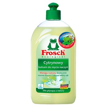 Frosch ecological Cytrynowy balsam do mycia naczyń 500 ml