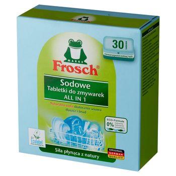 Frosch All in 1 Sodowe tabletki do zmywarek 600 g (30 sztuk)