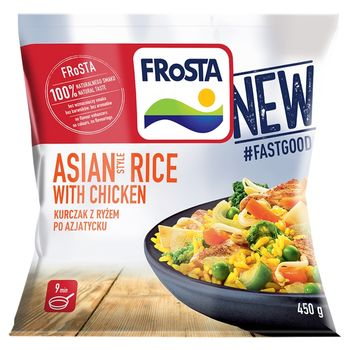 FRoSTA Asian Style Rice with Chicken Kurczak z ryżem po azjatycku 450 g