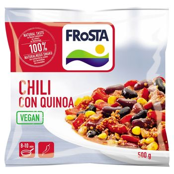 FRoSTA Chili con quinoa Wegańskie danie w meksykańskim stylu 500 g