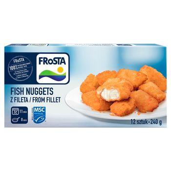 FRoSTA Fish Nuggets z fileta 240 g (12 sztuk)