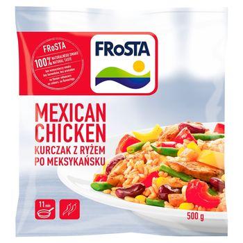 FRoSTA Mexican chicken Kurczak z ryżem po meksykańsku 500 g