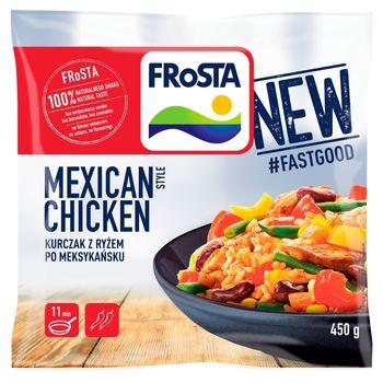FRoSTA Mexican Style Chicken Kurczak z ryżem po meksykańsku 450 g