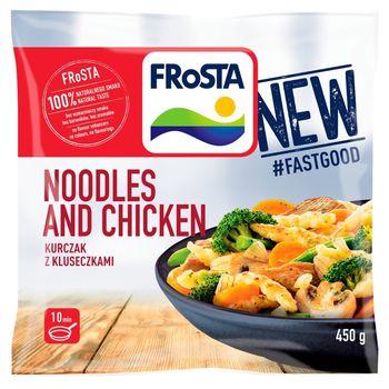 FRoSTA Noodles and Chicken Kurczak z kluseczkami 450 g