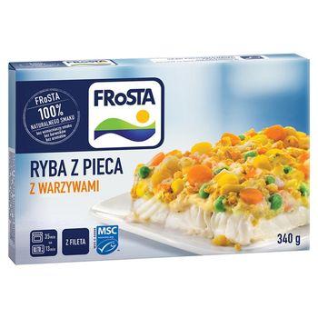 FRoSTA Ryba z pieca z warzywami 340 g