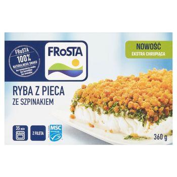 FRoSTA Ryba z pieca ze szpinakiem 360 g