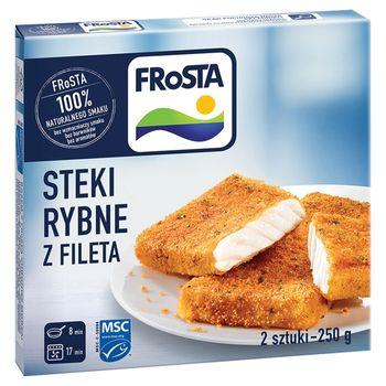 FRoSTA Steki rybne z fileta 250 g (2 sztuki)