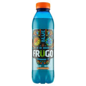Frugo Blue Berry & Kombucha Napój wieloowocowy niegazowany 500 ml