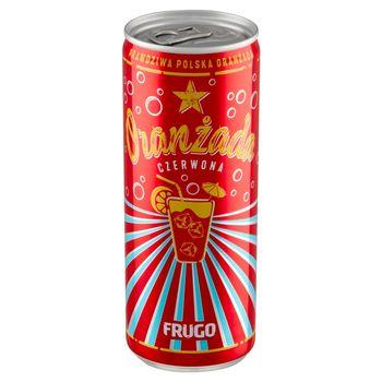 Frugo Oranżada czerwona 250 ml