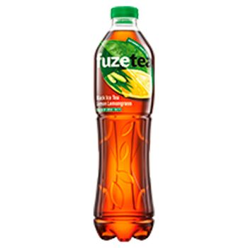 FuzeTea Napój herbaciany o smaku cytrynowym z trawą cytrynową 1,5 l
