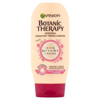 Garnier Botanic Therapy Odżywka do włosów osłabionych i łamliwych Olejek rycynowy i migdał 200 ml