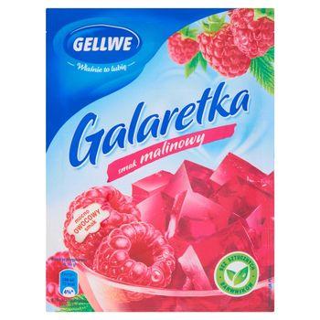 Gellwe Galaretka smak malinowy 75 g