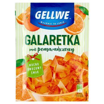 Gellwe Galaretka smak pomarańczowy 75 g