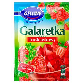 Gellwe Galaretka smak truskawkowy 72 g