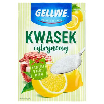Gellwe Kwasek cytrynowy 20 g