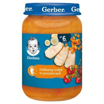 Gerber Delikatny indyk w pomidorach dla niemowląt po 6. miesiącu 190 g