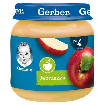 Gerber Jabłuszka dla niemowląt po 4. miesiącu 125 g