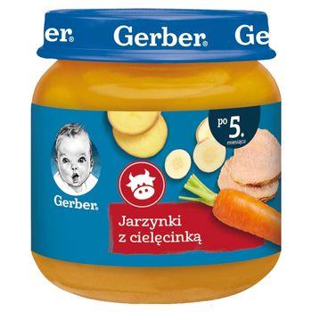 Gerber Jarzynki z cielęcinką po 5. miesiącu 125 g