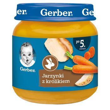 Gerber Jarzynki z królikiem dla niemowląt po 5. miesiącu 125 g