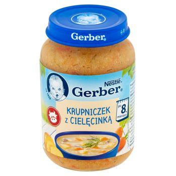 Gerber Krupniczek z cielęcinką po 8 miesiącu 190 g