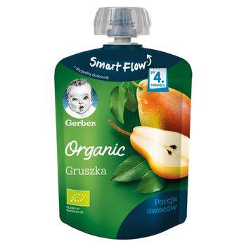 Gerber Organic Deserek Gruszka dla niemowląt po 4. miesiącu 90 g