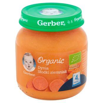 Gerber Organic Dynia słodki ziemniak po 4 miesiącu 125 g