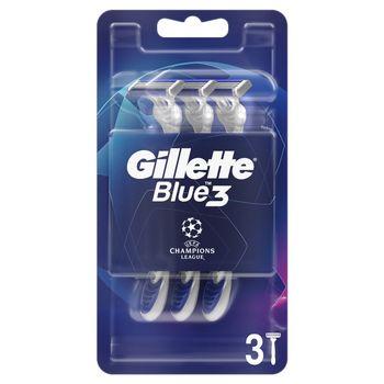 Gillette Blue3 Comfort Jednorazowa maszynka do golenia dla mężczyzn, 3 sztuk