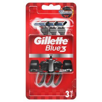 Gillette Blue3 Nitro Jednorazowa maszynka do golenia dla mężczyzn, 3 sztuk