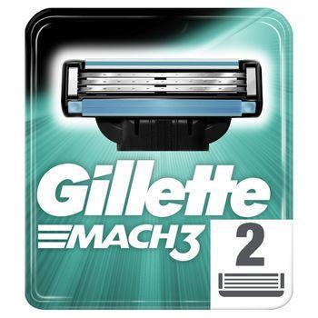 Gillette Mach3 Ostrza wymienne do maszynki, 2 sztuki