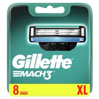 Gillette Mach3 Ostrza wymienne do maszynki do golenia dla mężczyzn, 8 sztuk