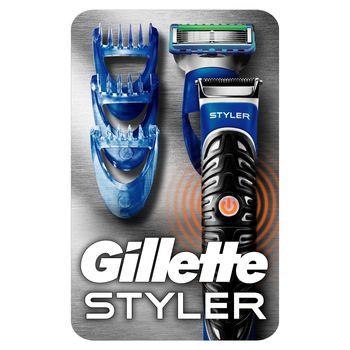 Gillette Styler: Trymer, maszynka i narzędzie do konturowania