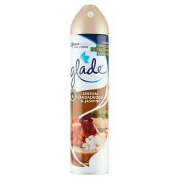 Glade Sensual Sandalwood & Jasmine Odświeżacz powietrza w aerozolu 300 ml
