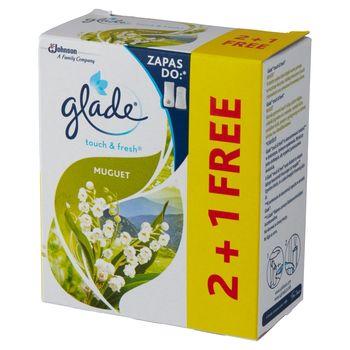 Glade Touch & Fresh Muguet Zapas do odświeżacza powietrza 3 x 10 ml