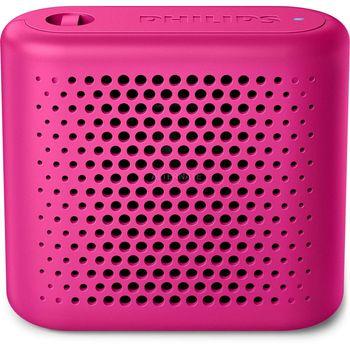 Głośnik Bluetooth Bezprzewodowy Philips BT-55P Różowy