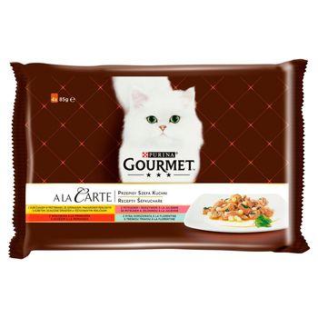 Gourmet A la Carte Karma dla kotów kolekcja przepisów szefa kuchni 340 g (4 x 85 g)