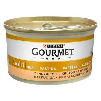 Gourmet Gold Karma dla kotów mus z indykiem 85 g