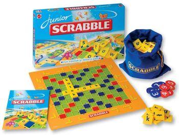 Gra edukacyjna MATTEL Scrabble Junior 52496
